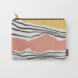 Modern irregular Stripes 01 Carry-All Pouch