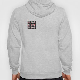Geometric Circle Pattern Hoody