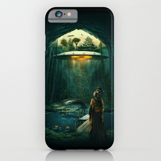 green layer iPhone & iPod Case