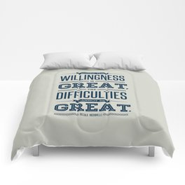 Lab No. 4 Where The Willingness Niccolo Machiavelli Inspirational Quotes Comforters