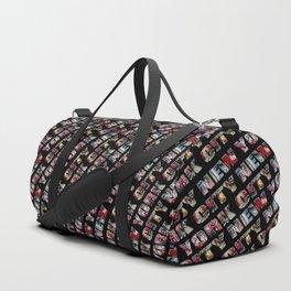 New York City (typography) Duffle Bag