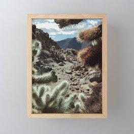Cholla Frame Framed Mini Art Print