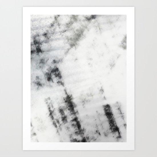 Black & White Abstract Series ~ 7 Art Print