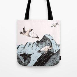 Afloat Tote Bag