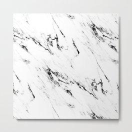 Classic Marble Metal Print