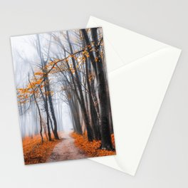Misty road Stationery Cards