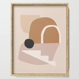 abstract minimal 24 Serving Tray