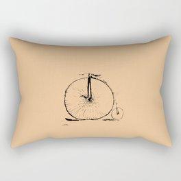Unicycle Bike Rectangular Pillow