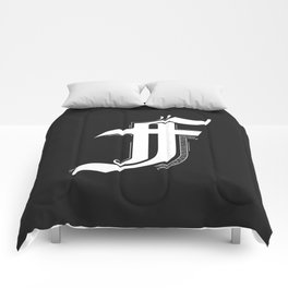 Letter F Comforters