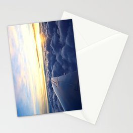 Sunrise Above the Clouds Stationery Cards