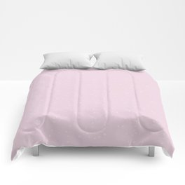 Light Pink Shambolic Bubbles Comforters