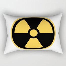 Nuclear Logo Symbol Rectangular Pillow
