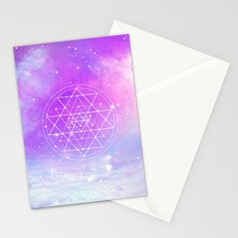 Sacred Geometry (Sri Yantra) Stationery Cards