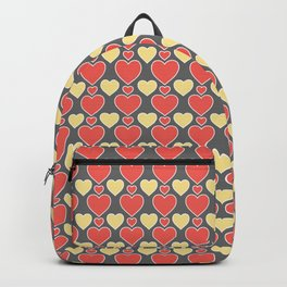 Seamless Hearts Pattern 031#001 Backpack