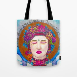 Close Your Eyes,Fall in Love, Stay There Tote Bag