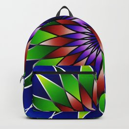 Queen of the valley mandala Backpack