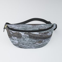 High Tide and Rock Formation Fanny Pack