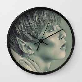 Elf Minseok Wall Clock