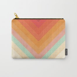 Rainbow Chevrons Carry-All Pouch