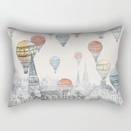 Voyages over Edinburgh Rectangular Pillow