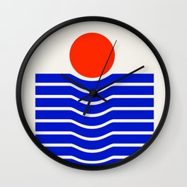 Going down-modern abstract Wall Clock