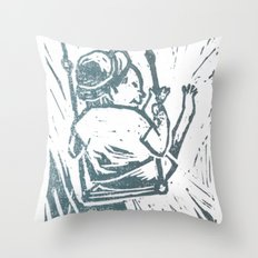 swing time Throw Pillow