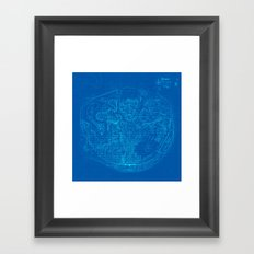 Happiest Place on Earth Framed Art Print