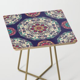 Colorful Mandala Pattern 007 Side Table