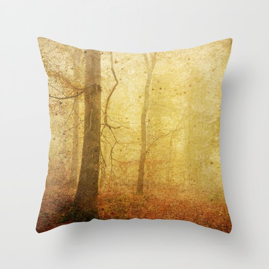 November I Throw Pillow