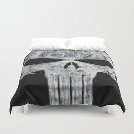 The Punisher skull Duvet Cover