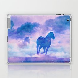 Horses run Laptop & iPad Skin
