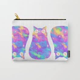 Pastel Galaxy Cat Carry-All Pouch