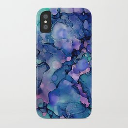 Abstract Alcohol Ink Painting 2 iPhone Case