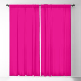 Fuschia Pink Blackout Curtain