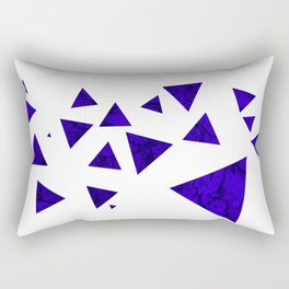Triangles of March Rectangular Pillow