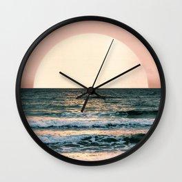 Summer Sunset Wall Clock