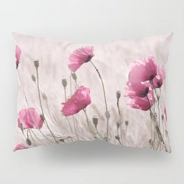 Poppy Pastell Pink Pillow Sham