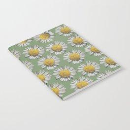 pastel daisy mania Notebook