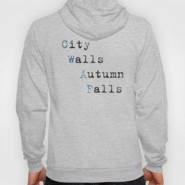 City Walls Autumn Falls Baby Onsie Hoody