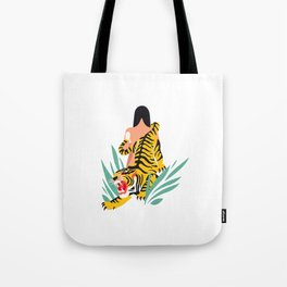 Waking the tiger Tote Bag