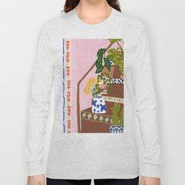 Bohemian stairs Long Sleeve T-shirt
