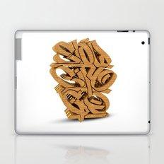 3D GRAFFITI - SLOW CITY GO Laptop & iPad Skin