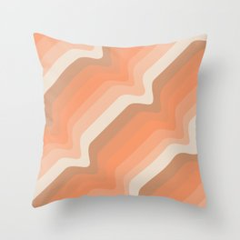 Soleil Waves Throw Pillow