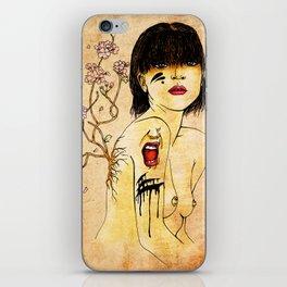 Portrait - asian woman iPhone Skin