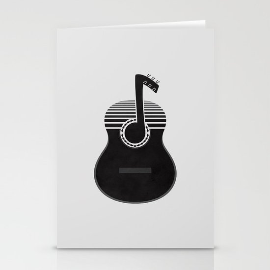 Classical Notes Stationery Cards