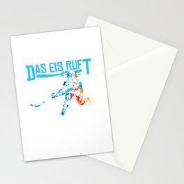 Das Eis ruft Eishockey Fan Shirt Stationery Cards