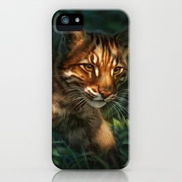 Golden Cat iPhone Case