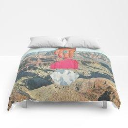 Desert Textures Comforters