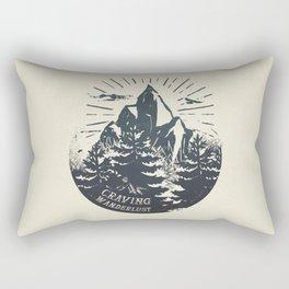 Craving wanderlust III Rectangular Pillow