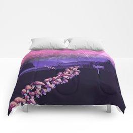Mushroom Wanderlust Comforters